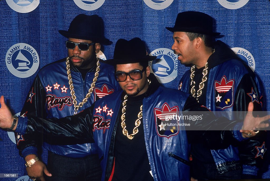 Run DMC at Grammy Awards, 1980s : News Photo