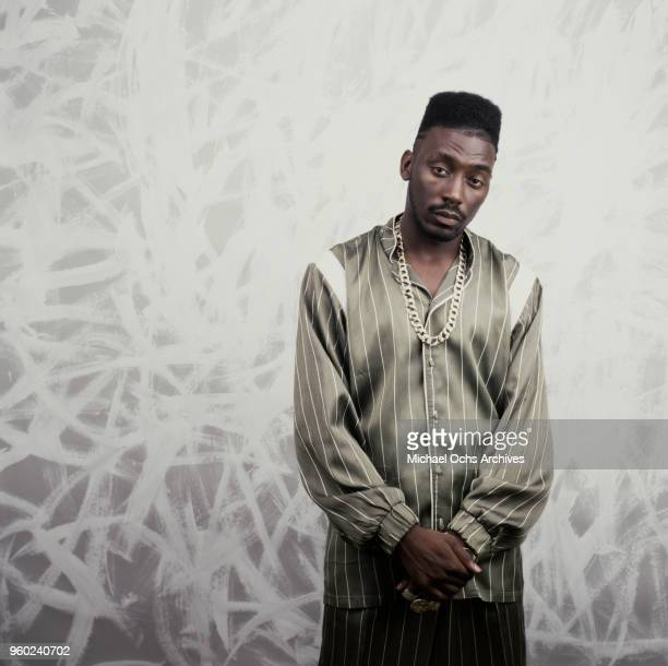American rapper and actor Big Daddy Kane circa 1988