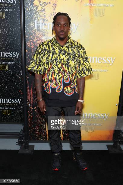 American rapper and record executive PushaT attends the 2018 Hennessy VS Limited Edition by Vhils Launch Party on July 12 2018 in New York City The...
