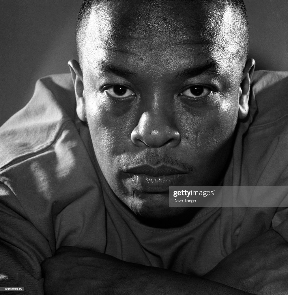 American rapper and Record producer Dr Dre (Andre Young), Los Angeles, United States, November 1999.