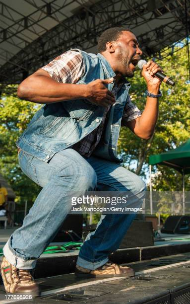American rapper Big Daddy Kane performs at the '40th Anniversary of HipHop Culture' concert at Central Park SummerStage New York New York August 10...