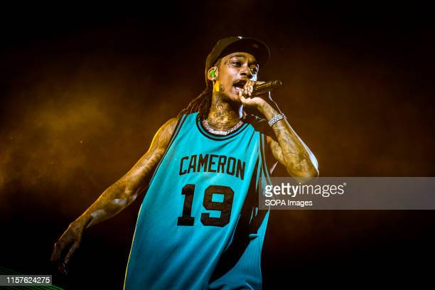 STAGE TORONTO ONTARIO CANADA American rapper Cameron Jibril Thomaz known professionally as Wiz Khalifa performs at a sold out show in Toronto