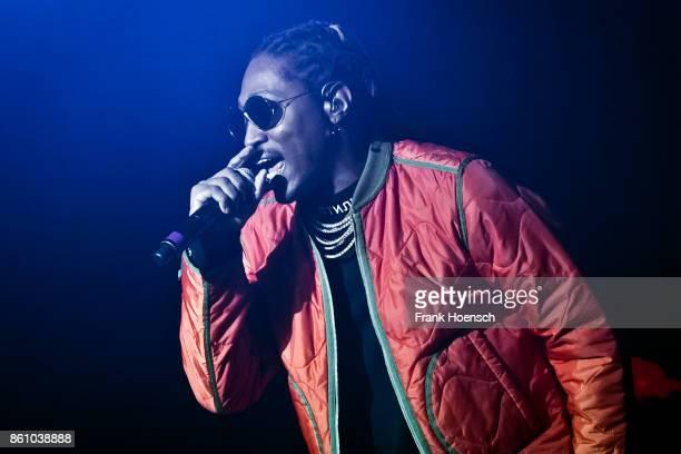 American rapper Future performs live on stage during a concert at the Columbiahalle on October 13 2017 in Berlin Germany