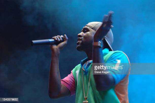 American rapper Kanye West performs onstage during a Lollapalooza concert, Chicago, Illinois, August 6, 2006.