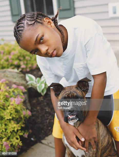 American rapper Lil' Bow Wow born Shad Gregory Moss circa 2000