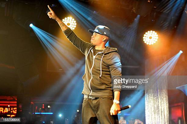 American rapper Nas performs on stage at Under The Bridge on October 1 2012 in London United Kingdom