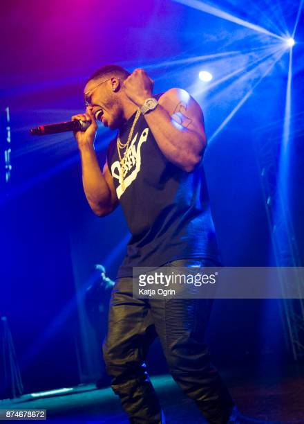 American rapper Nelly performs at O2 Academy Birmingham on November 15 2017 in Birmingham England