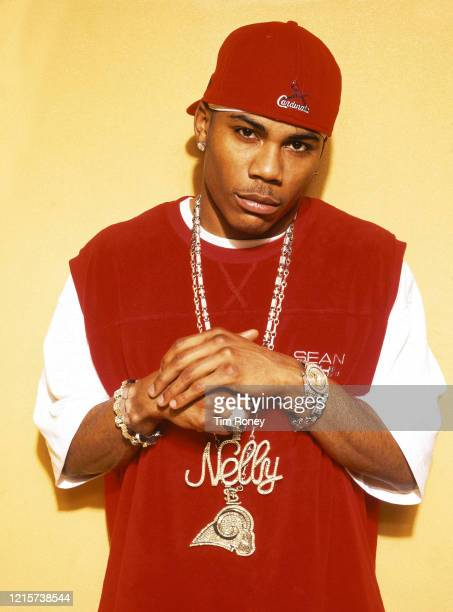 American rapper singer and songwriter Nelly 2003