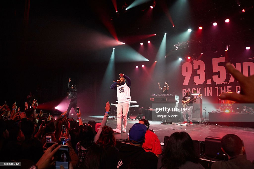 93.5 KDAY's Hip Hop Harvest : News Photo