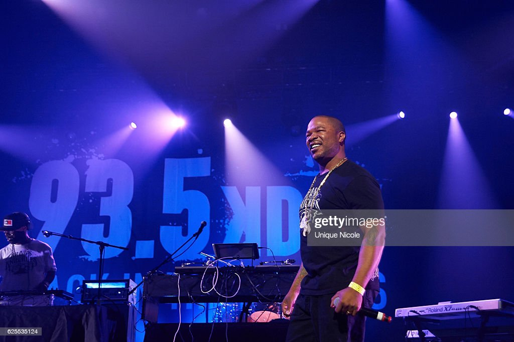 American Rapper Xzibit performs at 93.5 KDAY's Hip Hop Harvestat Microsoft Theater on November 23, 2016 in Los Angeles, California.