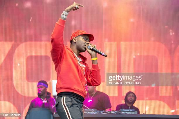 American Rapper Young Dolph performs during the Astroworld Festival at NRG Stadium on November 9 2019 in Houston Texas