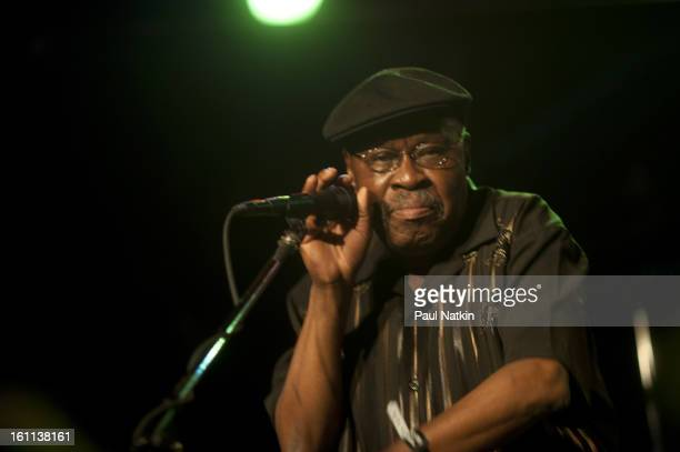 American RB and soul singer Bobby Allen perform on stage as part of the Ponderosa Stomp at the Howlin' Wolf New Orleans Louisiana September 16 2011