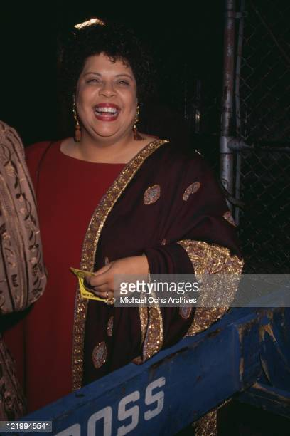 American RB pop and jazz singer Patti Austin attend an event US circa 2000