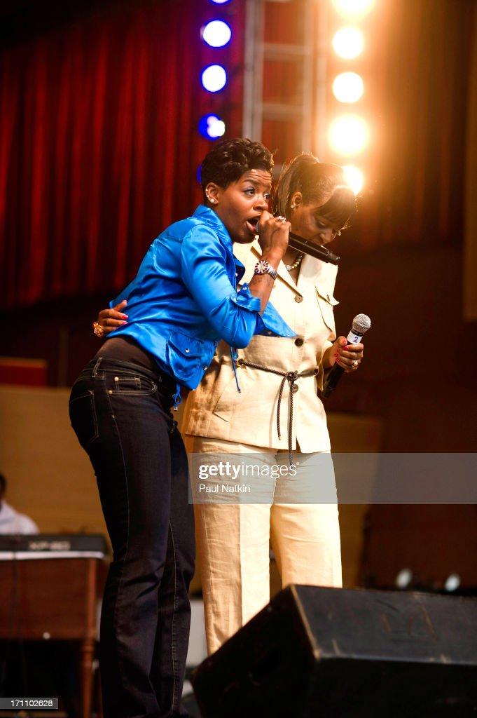 Fantasia At The 25th Annual Chicago Gospel Music Festival : News Photo