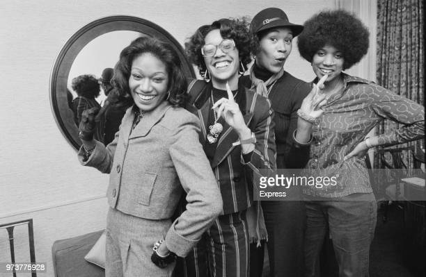 American RB vocal group The Pointer Sisters UK 16th January 1974 they are June Pointer Bonnie Pointer Anita Pointer and Ruth Pointer