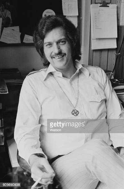 American record producer and musician Jimmy Miller , UK, 14th June 1968.