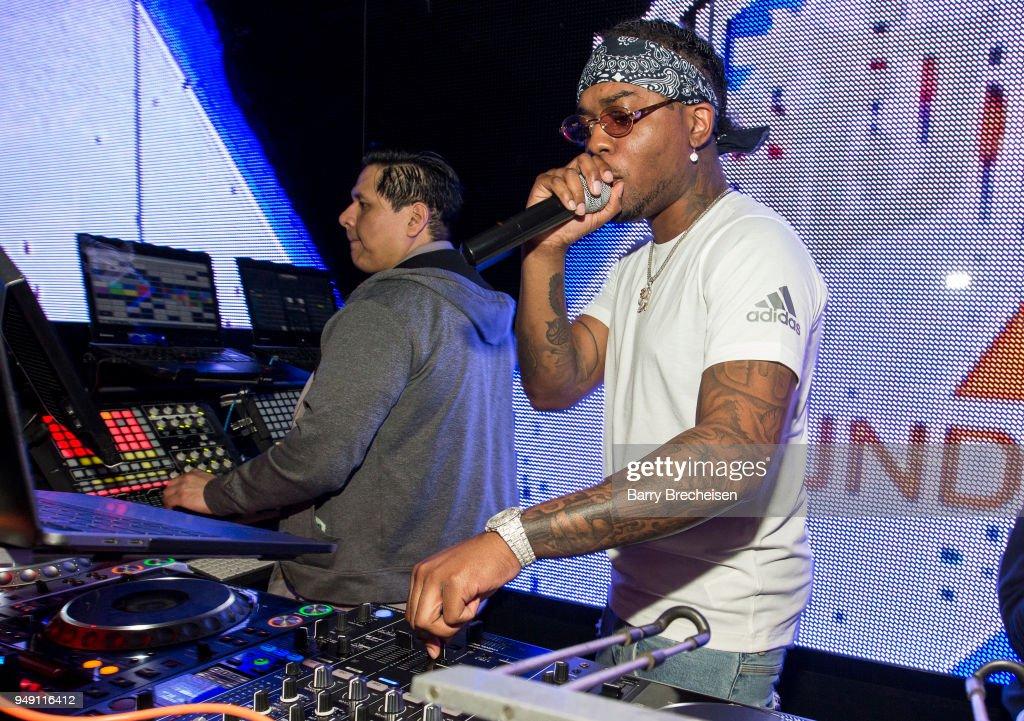 DJ London On Da Track Spins At The Underground