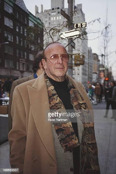 American record producer Clive Davis in New York City circa 1995