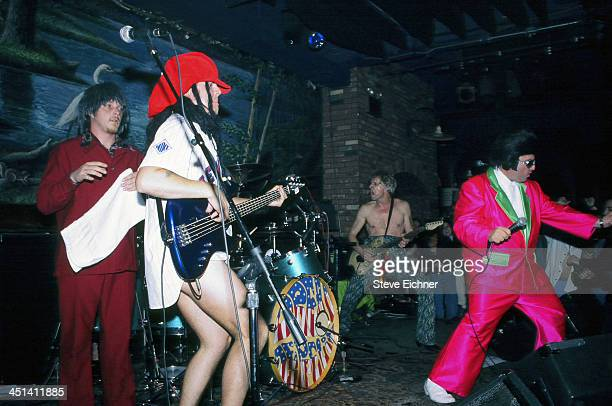 American reggae/rock band Dread Zeppelin performs on stage at the Wetlands Preserve nightclub May 17 1996