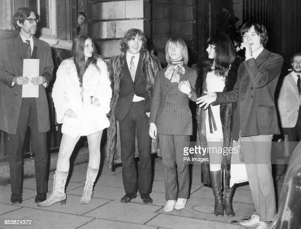American research worker Stephen Abrams Susan Zeiger writer Alan Reid DJ Jeffrey Bedwell Caroline Coon and recording agent Christopher Jagger 19 They...