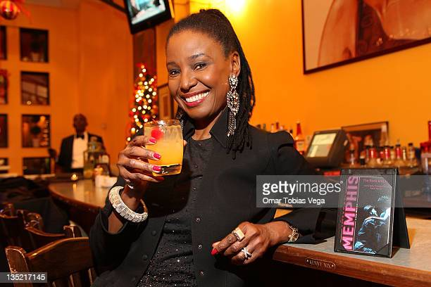 Actress/Lifestyle Expert B Smith attends the MemphisInspired cocktail launch at B Smith's Restaurant on December 7 2011 in New York City