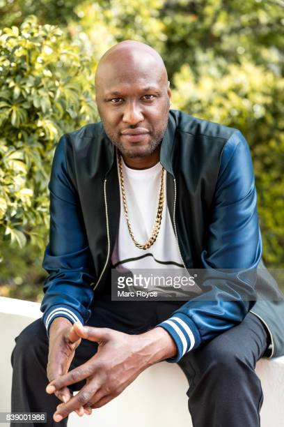 American retired professional basketball player Lamar Odom is photographed for Us Weekly on February 23 2017 in Los Angeles California