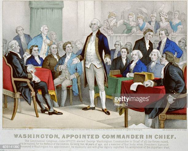 American Revolutionary War 17751783 Washington appointed commanderinchief _by the Continental Congress delegates from the Thirteen Counties that...