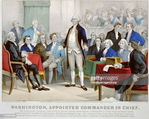 American Revolutionary War 17751783 Washington appointed commanderinchief by the Continental Congress delegates from the Thirteen Counties that...