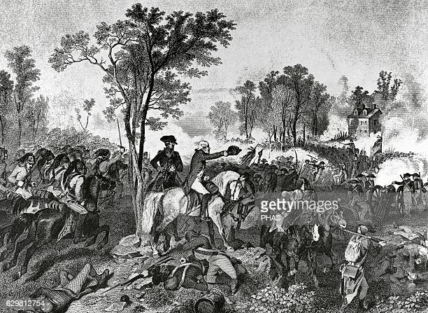 American Revolutionary War Siege of Yorktown American Continental Army led by George Washington and allied French troops led by the Comte de...
