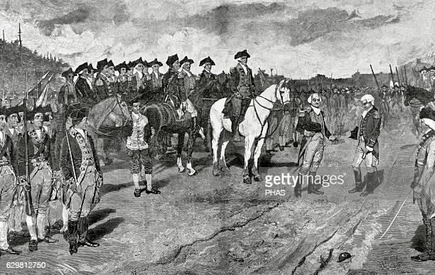 American Revolutionary War Siege of Yorktown Surrender of British Major General Lord Charles Cornwallis The action ends the Siege of Yorktown and...