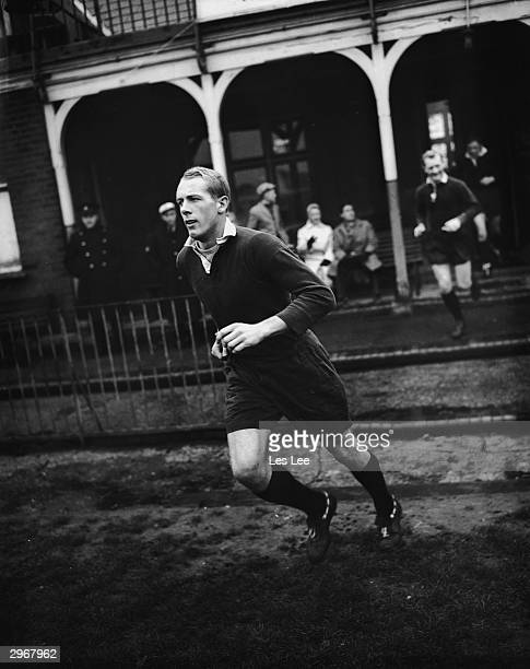 American Rhodes student Peter Dawkins who has been chosen to play for Oxford in the annual varsity rugby match against Cambridge December 1959