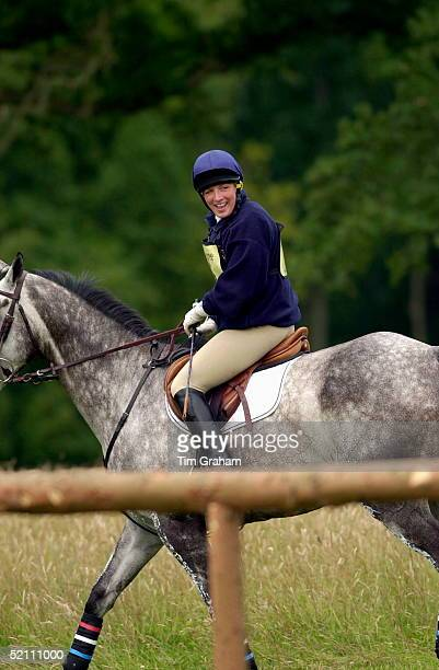 American Rider Elizabeth Iorio [ USA ] Competing In The Cornbury Park Horse Trials In Oxfordshire She Is A Friend Of Peter Phillips