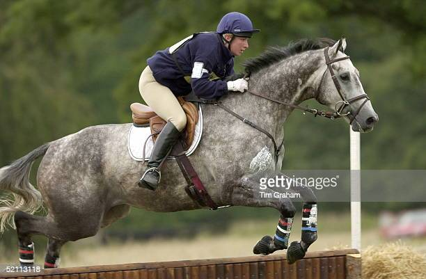 American Rider Elizabeth Iorio [ USA ] Competing In The Cornbury Park Horse Trials In Oxfordshire On Her Novice Horse Benjamin Bootshe Is A Friend Of...