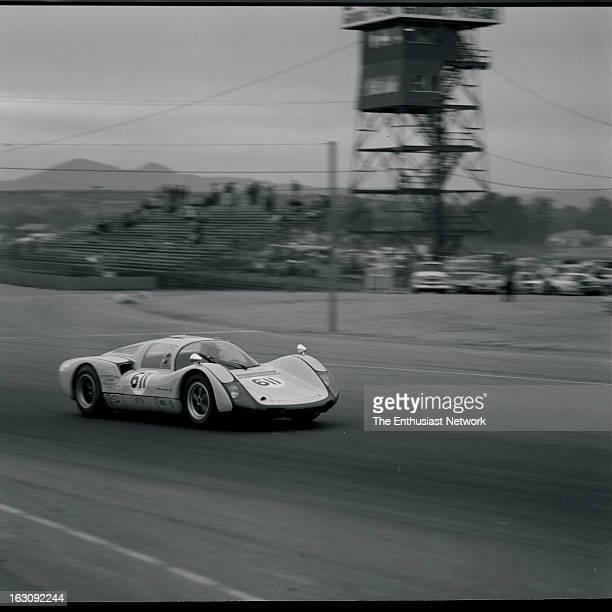 American Road Race of Champions Riverside International Raceway Don Wester driving his Porsche Carrera 6