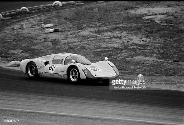 American Road Race of Champions Riverside International Raceway Don Wester's Porsche 906 Carrera finishes the twelfth race for CDEFSports Racing...