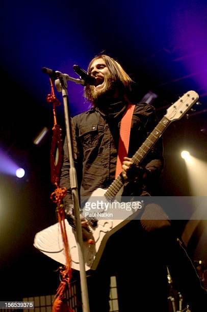 American rock band 30 Seconds to Mars performs at the Aragon Ballroom Chicago Illinois March 16 2007 Pictured is singer Jared Leto