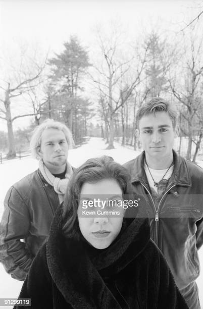 American rock band Belly in Boston December 1992