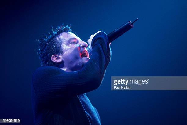 American rock band Filter performs onstage at the Rosemont Horizon Rosemont Illinois September 28 1999