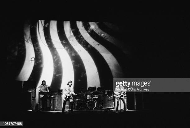 American rock band Iron Butterfly in concert circa 1967