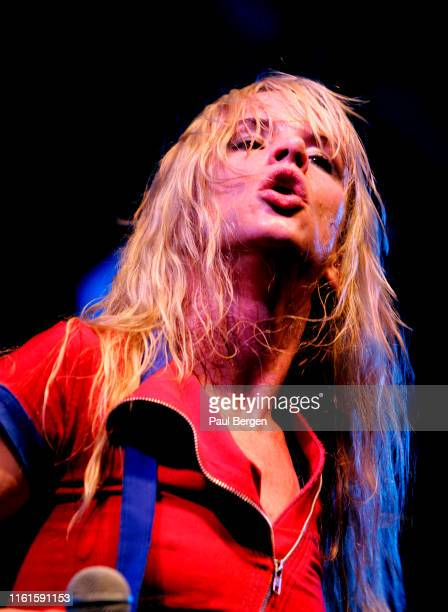 American rock band Juliette and the Licks with lead singer and actress Juliette Lewis perform at Lowlands festival, Biddinghuizen, Netherlands, 19...