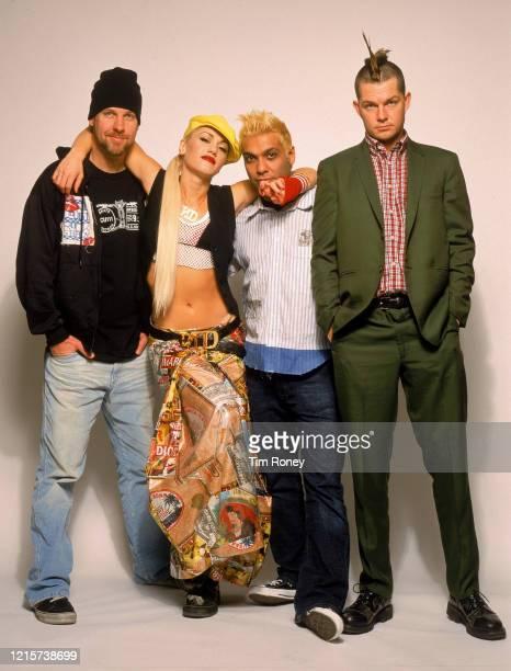 American rock band No Doubt, 2002.
