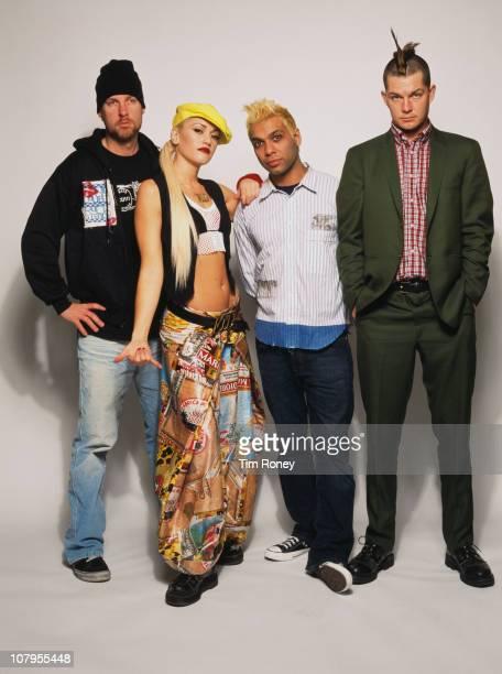American rock band No Doubt, circa 2001.