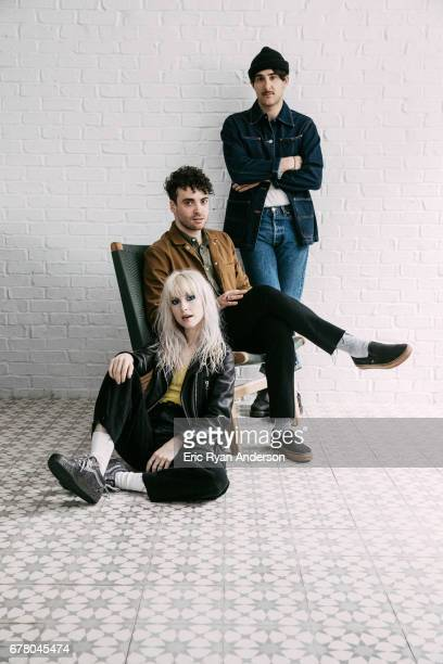 American rock band Paramore is photographed for New York Times on March 29, 2017 in Nashville, Tennessee.