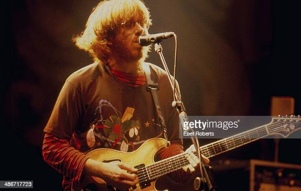 American rock band Phish on stage 1994