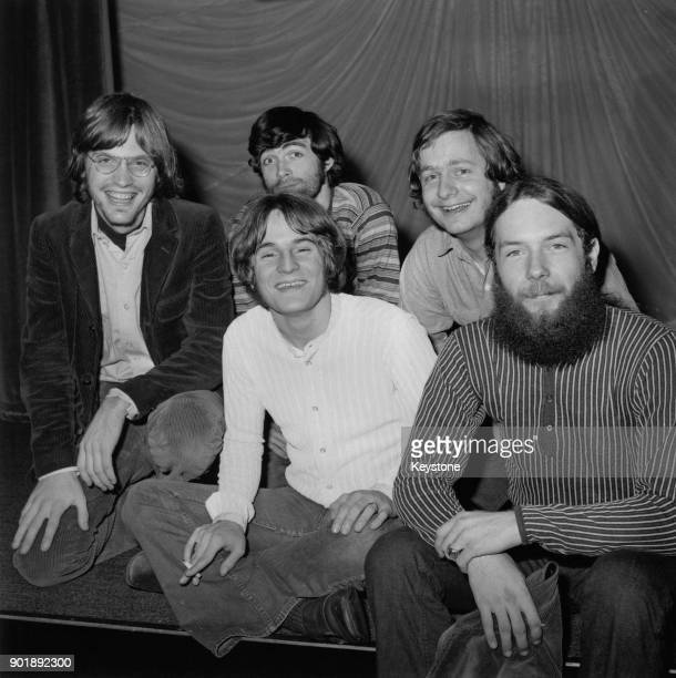 American rock band the Box Tops in London 4th December 1969