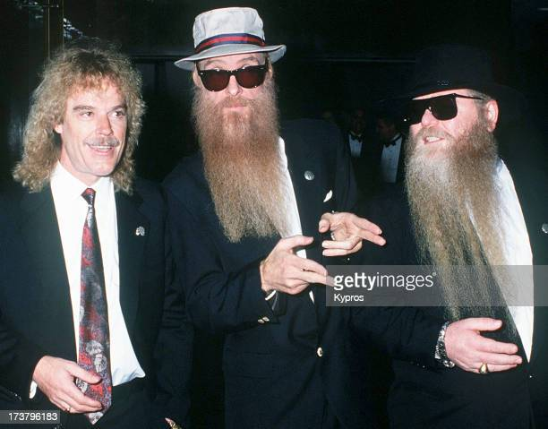 American rock band ZZ Top circa 1993 They are Frank Beard Billy Gibbons and Dusty Hill