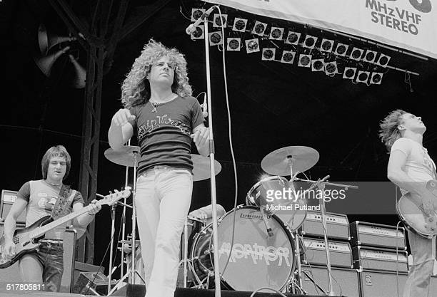 American rock group Montrose performing at the Summer of '74 oneday festival held at Charlton Athletic's football ground The Valley London 18th May...