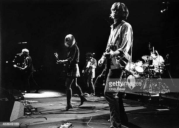 American rock group Sonic Youth perform on stage Los Angeles California 2000