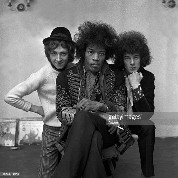 American Rock Group The Jimi Hendrix Experience From Left to RightMitch Mitchell Jimi Hendrix Noel Redding