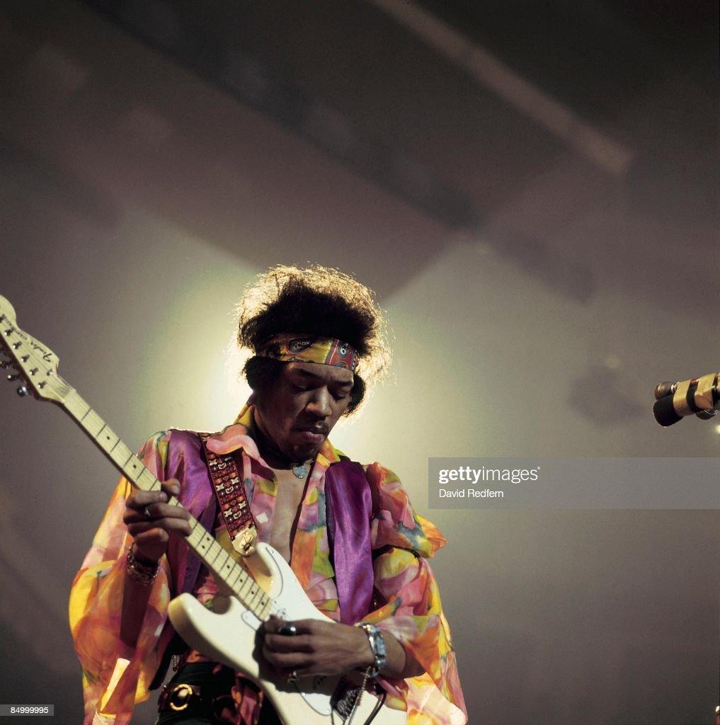 Jimi Hendrix Live At The Royal Albert Hall : News Photo